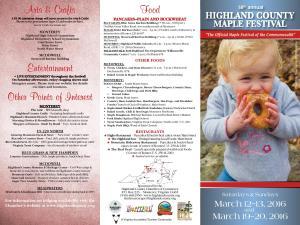 highland maple