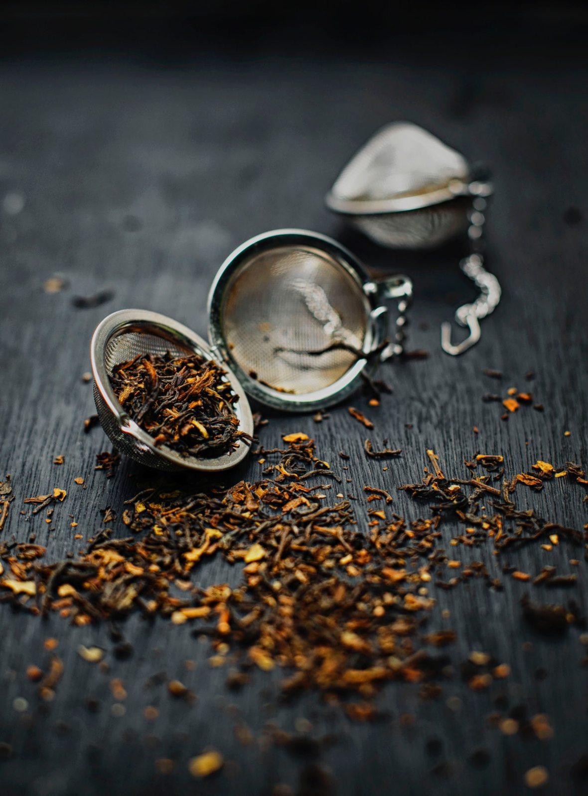 teas and tisanes
