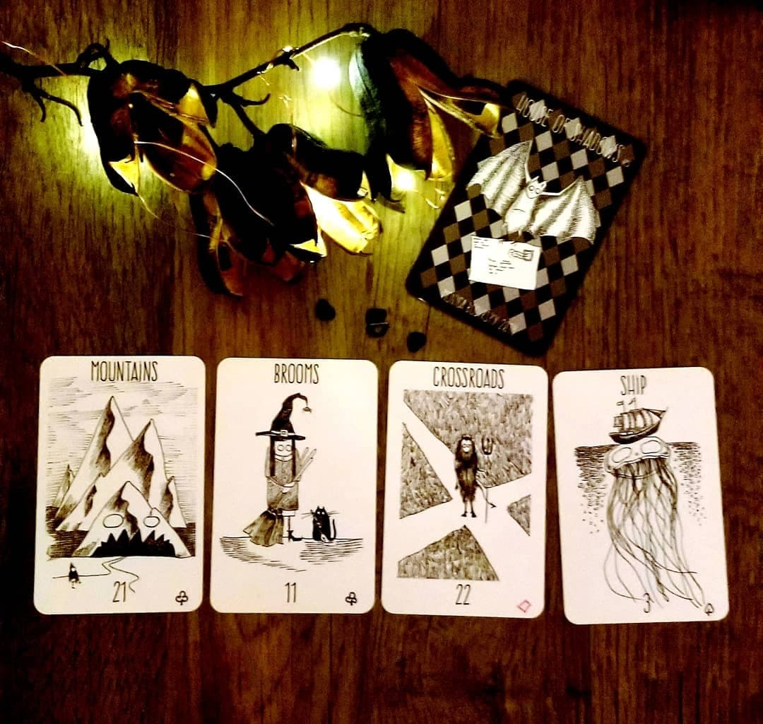 House of Shadows Lenormand